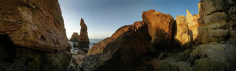 Algarve Cliffs by Erik Tanghe