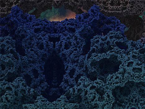 Alien Cave by Thomas  MacPherson Jr