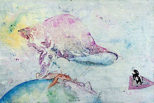 Alien Cow Innoculates Earth by Paul Brink