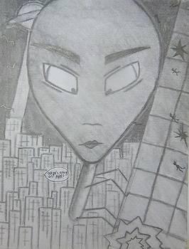 Alien Mantis by Kayla Hart