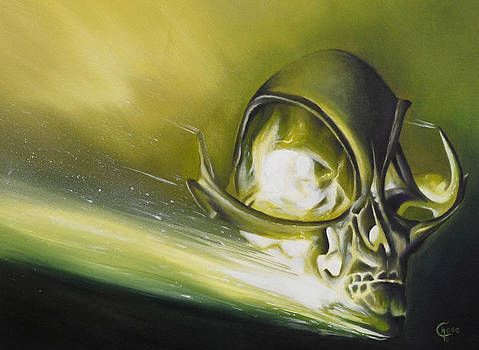 Alien Skull by Chad Chase