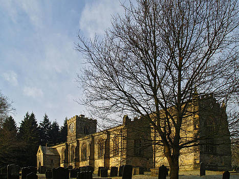 All Saints Harewood by Steve Watson