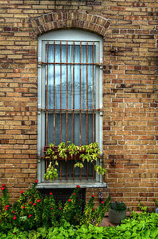 Alley Window by Kelly Kitchens