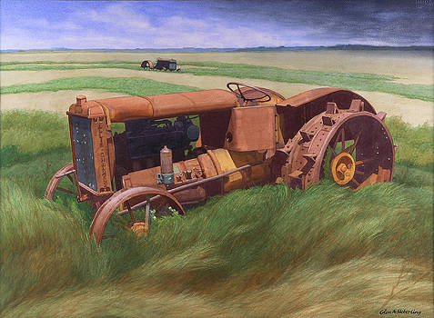 Allis Chalmers Tractor by Glen Heberling