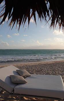Alluring Tropical Beach by Karen Lee Ensley