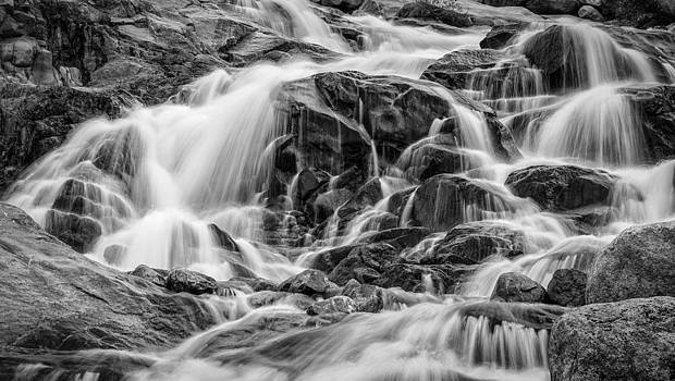 Alluvial Falls Rocky Mountain National Park 1510 by Ken Brodeur