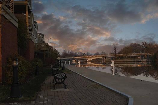 Joel Witmeyer - Along the Menasha Riverfront