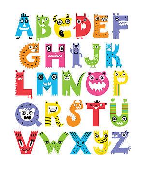Alphabet Monsters by Andi Bird