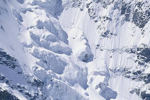 Alpine Glacier, Switzerland by Franz Aberham