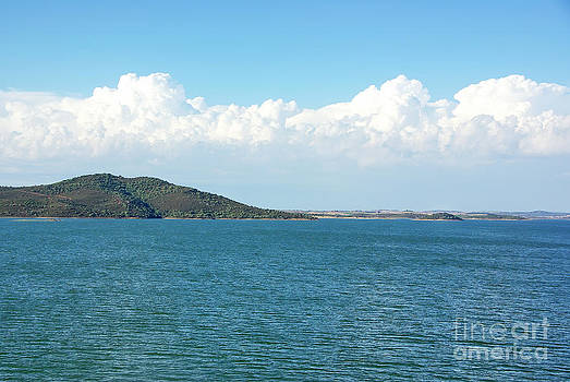 Alqueva lake Guadiana river Portugal. by Inacio Pires