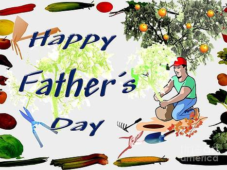 Always Growing Happy Fathers Day by Catherine Herbert