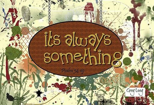 Always somethin by Greg Long