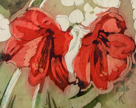 Amaryllis by Morning by Marlene Petersen