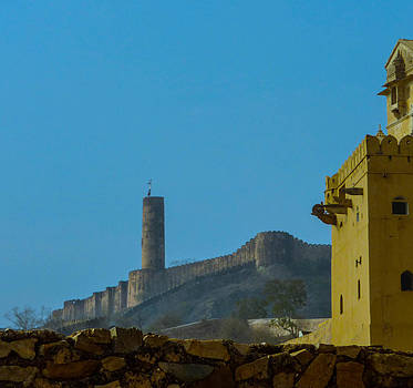 Amber Fort and Tower by Andrea Mendes