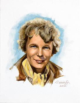 Amelia Earhart by Karen Wilson