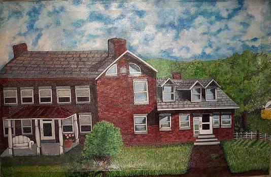 American Farmhouses in Washington County by Brooke F Boyce