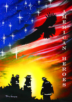 American Heroes  by Tony Vegas