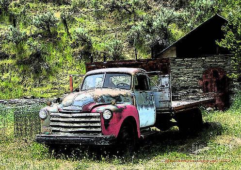 Glenna McRae - American Vintage Truck Many A Mile
