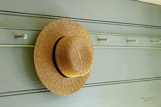 Amish Hat by Brian Brown