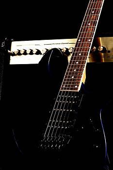 Amplifier with guitar by Matthias Krapp