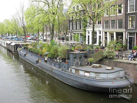 Amsterdam in Spring 01 by Ausra Huntington nee Paulauskaite