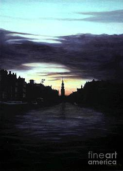 Amsterdam Nocturne by Michael John Cavanagh
