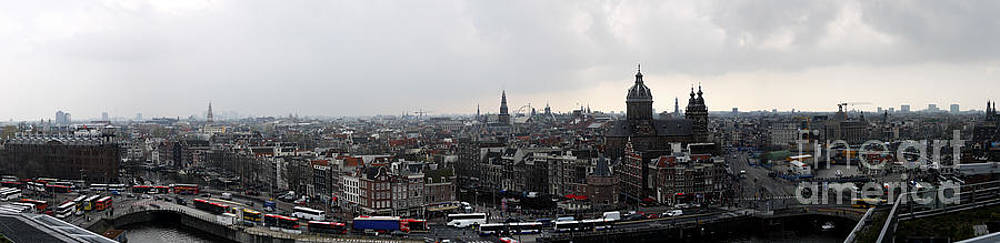 Amsterdam Panorama by Kelsey Horne