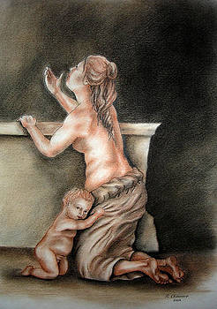 Nathalie Chavieve - An allegory of poverty