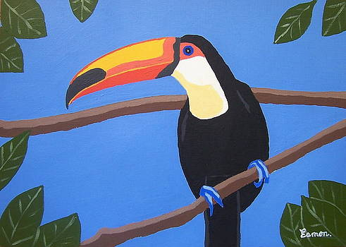 An exotic bird if ever I saw one by Eamon Reilly