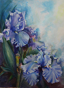 An Iris for My Love by Mary Beglau Wykes