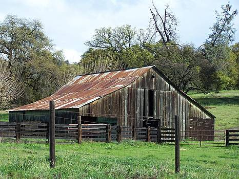 An Old Barn by Ronald Ataide