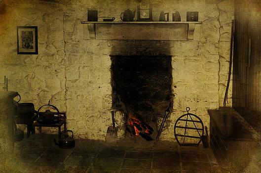 An Old Irish Hearth by David McFarland