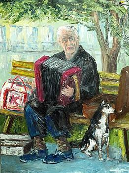 An Old Man by Stanislav Zhejbal