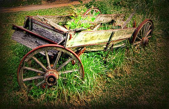 Randall Branham - An old tool wagon