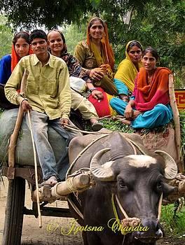 an unpretentious life..village in India by Jyotsna Chandra