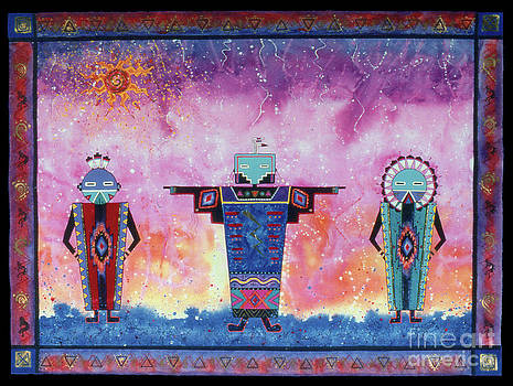 Ancestral Peace Makers by Nadene Merkitch