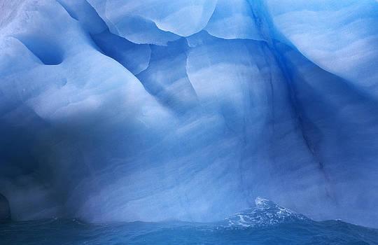 Flip De Nooyer - Ancient Blue Iceberg, Detail, Antarctica