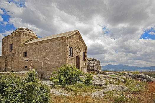 Kantilal Patel - Ancient Church on Hills of Anatolia