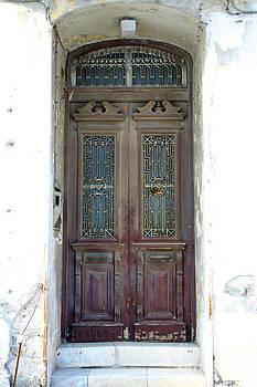 Ancient Door by Maria Varnalis