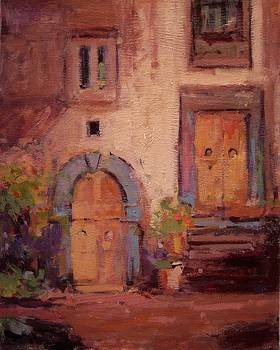 Ancient doors by R W Goetting