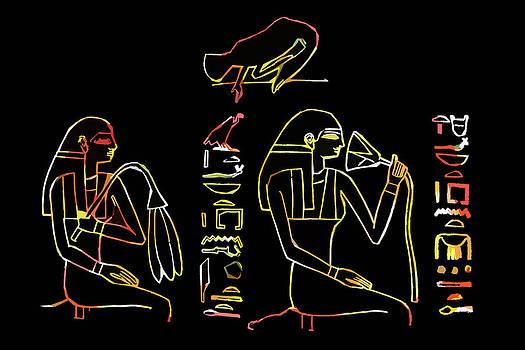 James Hill - Ancient Egyptian Hieroglyph