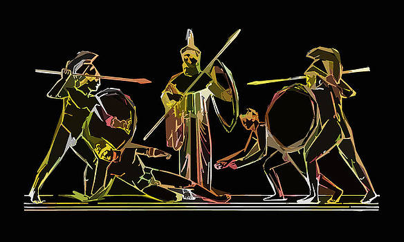 James Hill - Ancient Greek Soldiers
