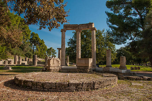 Ancient Olympia Greece by Stavros Argyropoulos