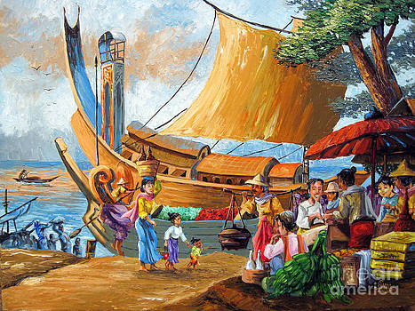 Ancient Strand Market by Aung Min Min