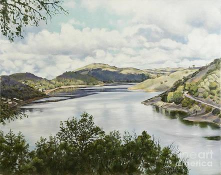 Anderson Reservoir by Lorna Saiki