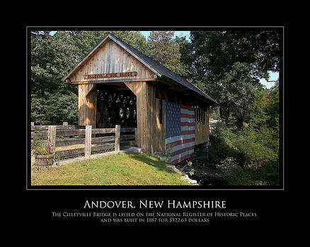 Andover NH Historical Bridge by Jim McDonald Photography