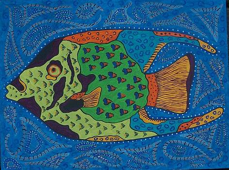 Angel Fish by Debbie Talman