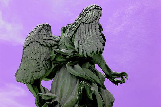 Angel in Purple Sky by Alessandria Iannece