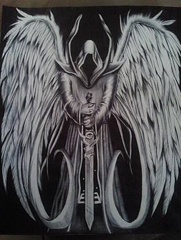 Angel of Death  by Maritza Montnegro
