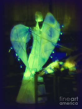 Angel of green light by Jane Clatworthy